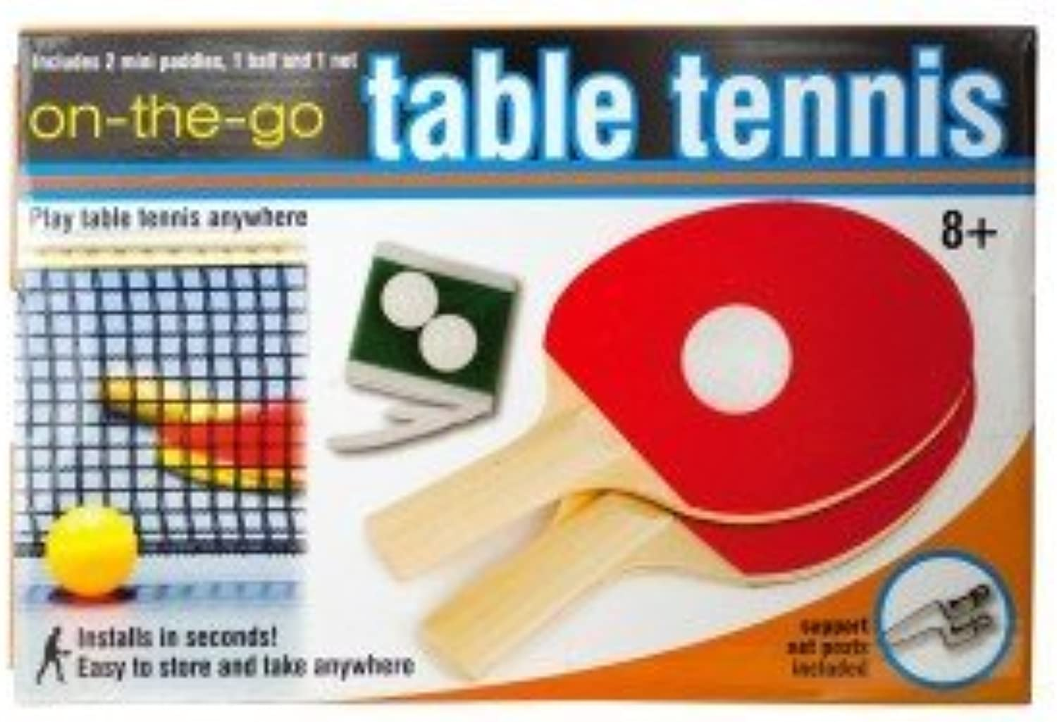 Portable Table Tennis Set by Delrie