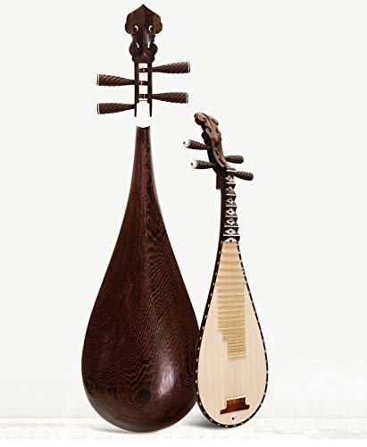 YUNC Instrumentos Musicales, Pruebas de Rendimiento Profesional, Caoba, Wengué, Palo de Rosa, Pipa Delicada DiseñO ErgonóMico, Simple Y CóModo Al Tacto. / A