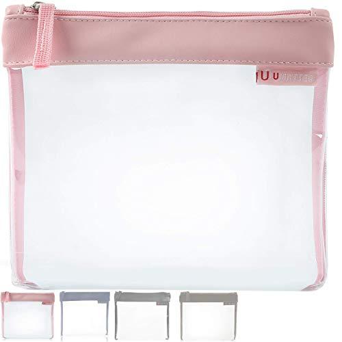 umatter® Flugzeugbeutel, Kulturbeutel transparent für Flüssigkeiten im Handgepäck, durchsichtige Kulturtasche, 1 Liter Reiseset, Kosmetiktasche, die Reisetasche ist Ideal für die Flugreise