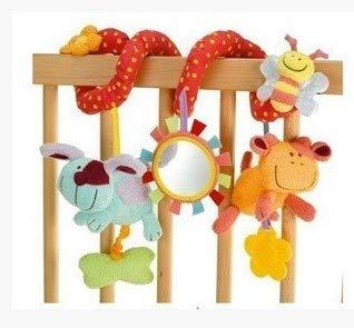 Juguete con diseño de Animales es Adecuado para cochecitos y cunas. Ideal para cochecitos, cestas, Columpios, Asientos de Coche Regalo Adecuado