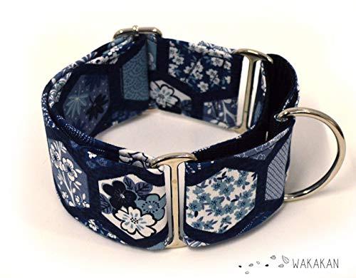 Collar Martingale Para Perro: Japanese Vibes, Hecho a Mano en ...