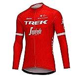 ADKE Homme VTT Vêtement de Cyclisme, Automne Maillot Cyclisme Manches Longues