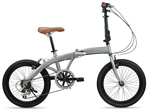 FabricBike Folding Turbo Bicicleta Plegable 6 Velocidades Shimano® Cuadro Aluminio Ruedas 20