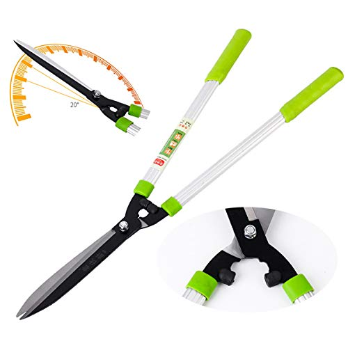 Best Bargain XPKZYSLJ-J Hedge Shears Professional Garden Clippers 705 mm Strong SK5 Carbon Blades Co...