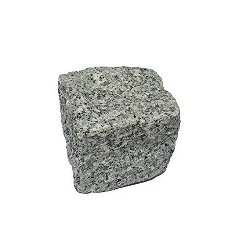 AUPROTEC Granit Pflasterstein Naturstein 9/11 grau DIN EN 1342: 1 Stein als Muster oder Reparaturstein