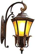 VanFty Outdoor Light armaturen Muurbevestiging LED-wandlamp Outdoor wandkandelaar verlichting waterdichte tuin muur lantaa...