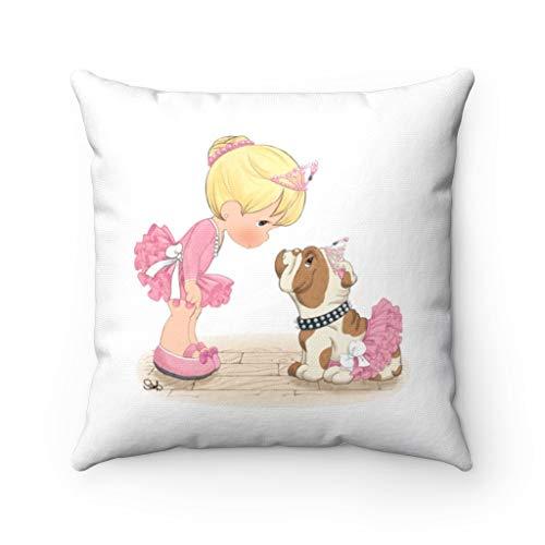 Precious Moments - Funda de almohada para almohada de Trow