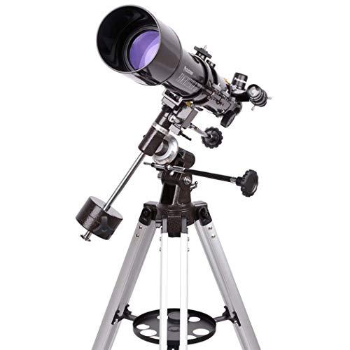 GGPUS Telescoop, Reisscoop, Astronomische Refracter Telescoop met Statief & Finder Scope, Draagbare Telescoop voor Kinderen Beginners met Statief