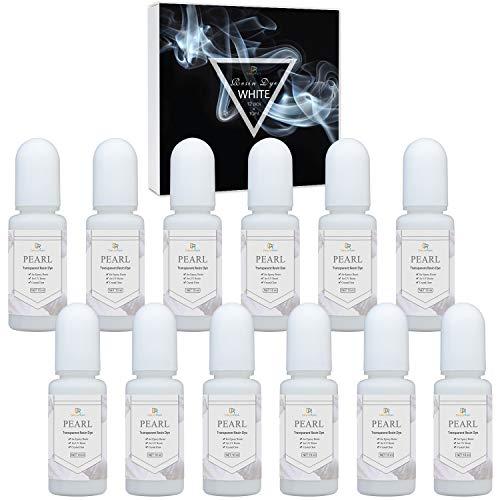 Colorante Resina Epoxi UV Blanco - 120ml Cristal Transparente Pigmento de Resina Epoxi Blanco para Colorear Resina UV, Fabricación de Joyas - Colorante Concentrado de Resina Epoxy UV para Pintura