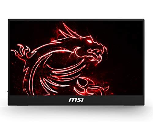 "MSI Optix MAG161V - Monitor portátil de 15.6"" FullHD 60Hz (1920 x 1080, pantalla plana, panel IPS, ratio 16:9, brillo 180 nits, Anti-glare) gris"