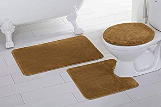 Fabulous Amazon Com Gold Bath Rugs Bath Home Kitchen Interior Design Ideas Apansoteloinfo
