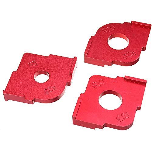 3 Stück Holzplattenradius R5-R30...