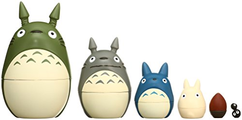 My Neighbor Totoro Nesting Puppe Figur Set