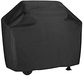 BBQ Cover Waterproof BBQ Gas Grill Cover Black Barbecue Cover UCARE Large 210D Outdoor Gas Charcoal Barbecue Gill Protecto...