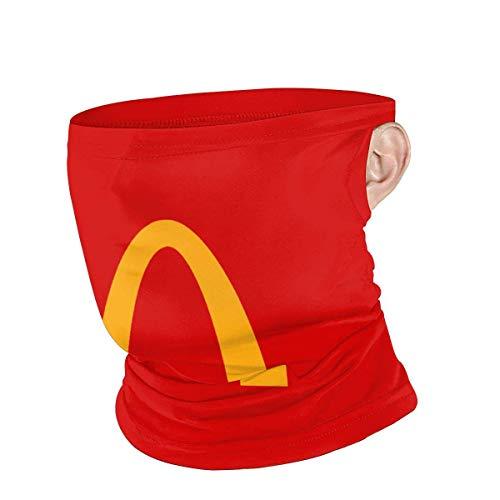 McDonalds Unisex Anti-Staub-Mundschutz, Sport hängendes Ohr Winddichter Gesichtsschutz für Jugendliche