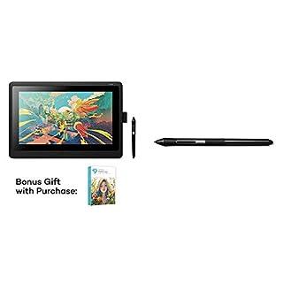 Wacom Cintiq 16 Drawing Tablet with Screen (DTK1660K0A) Bundle with Wacom Pro Pen Slim (KP301E00DZ) (B0826XH71M) | Amazon price tracker / tracking, Amazon price history charts, Amazon price watches, Amazon price drop alerts