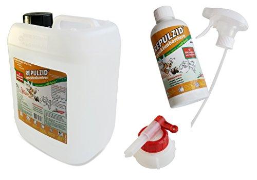 Bactenet Repulzid Insekten-Barriere 5500ml, Universal Insektenschutz Insektenmittel Insektenspray Schädlingsbekämpfung