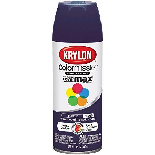 Krylon Innen und Außen Decorator Paint–12Oz. Spray Purpur