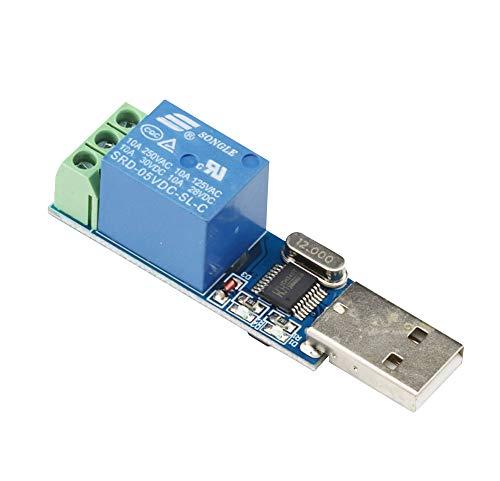 Aihasd 1 Canal Módulo de relé USB Interruptor de Control Inteligente
