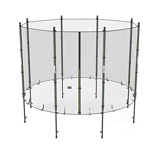Acon Trampolin-Sicherheitsnetz inkl. Netzstangen – ø 300 cm / 8 Pfosten