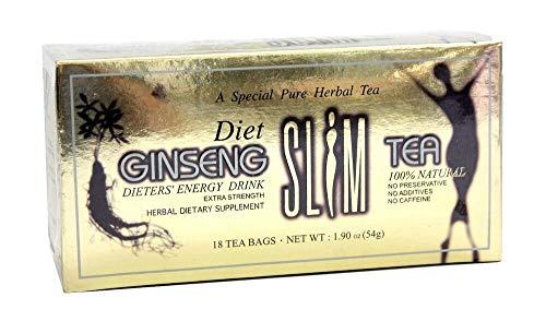 Songwha Diet Ginseng Slim Tea, 18 Tea Bags, 1.90 Ounce (Pack of 3)