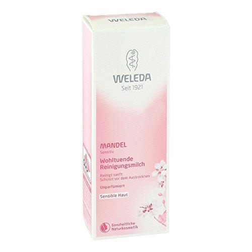 WELEDA Mandel Reinigungsmilch mild, 75 ml