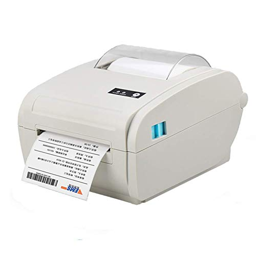 CIJK Label Makers Label Printer,Thermal Label Printer, Direct Thermal Desktop Printer USB/Wifi/Bluetooth Connection Compatible with Multi-System Label Maker