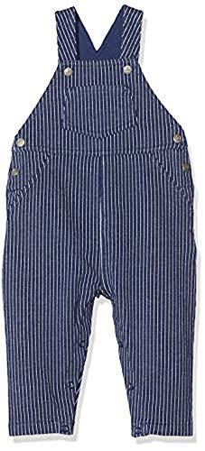 Petit Bateau Jungen 5290901 Overall, Mehrfarbig (Smoking/Marshmallow Bf2), 3 Jahre (Herstellergröße: 36Monate)