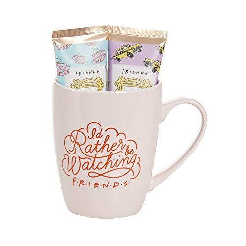 Juego de taza de café y crema de manos de Friends