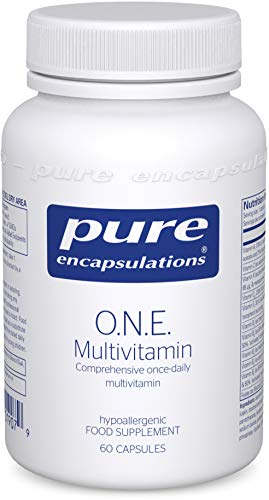 Pure Encapsulations - O.N.E. Multivitamin - Comprehensive Once-Daily Multivitamin - 60 Capsules