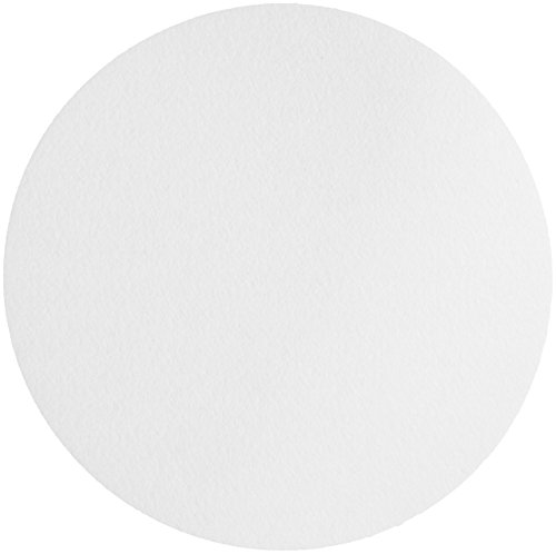 Whatman 1001-055 Quantitative Filter Paper Circles, 11 Micron, 10.5 s/100mL/sq inch Flow Rate, Grade 1, 55mm Diameter (Pack of 100)