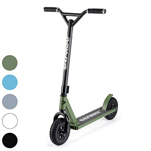 Osprey Dirt Scooter with Off Road All Terrain Pneumatic Trail Tires - 5 Colors Available - Offroad...