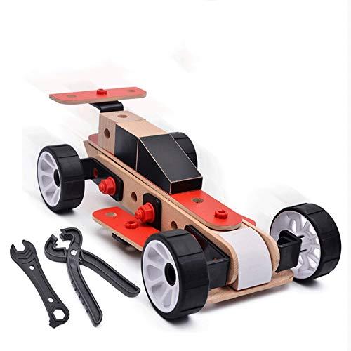 Mopoq Kinder-Hands-on-Fähigkeit Schraubenkombination Pädagogisches Spielzeug Werkzeugwagen...