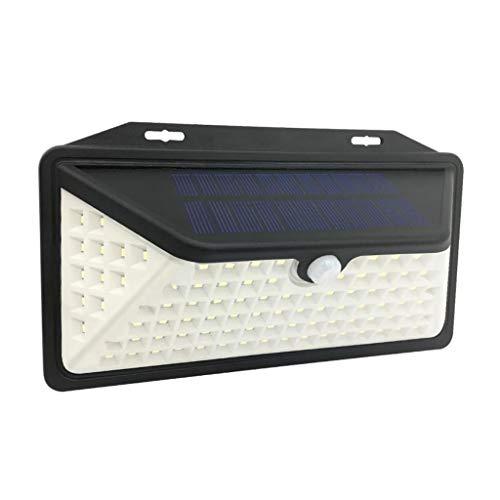 Amuzocity Lámparas Solares de Pared Lámpara de Seguridad Ultrabrillante para Exteriores con