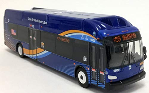 Iconic Replicas MTA NYC Transit New Flyer Excelsior Bus 1/87 Scale- HO Scale New! Limited Edition! Q59