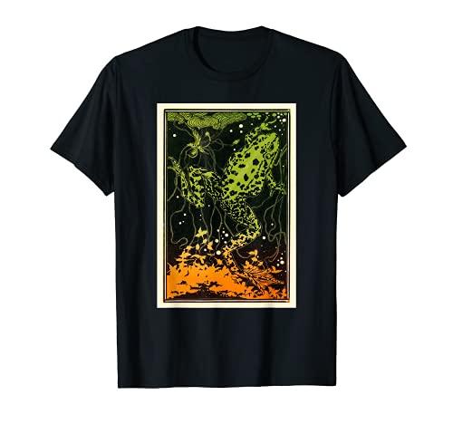 Julie de Graag Grenouille nageuse Art déco sous l'eau T-Shirt