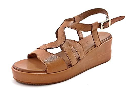 Grunland SA2361 ZIPE Sandalo Donna P. Cuoio 39