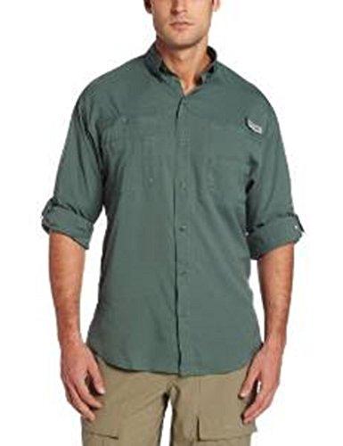 Columbia Sportswear Big and Tall Tamiami II Camisa de Manga Larga, Commando, 3X