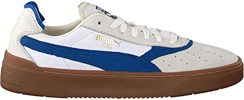 Puma Cali-0 Vintage, puma White-Surf The Web-Whisper White, 9,5
