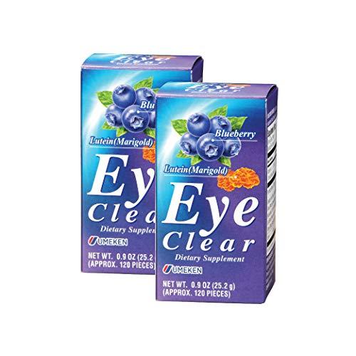 Umeken Eye Clear Dietary Supplement - Supports Eye Health, Blueberry...