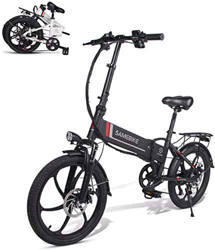XCBY Bicicleta EléCtrica ,Smart Ebike - De 48 V Y 20
