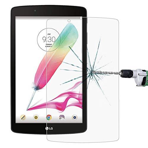 PAN-ES 0.3mm 9HPelícula de Cristal Moderada a Pantalla Completa Compatible para LG G Pad F 8.0 / V495 Película Protectora de Pantalla Compatible para Tablet PC (Color : Color1)