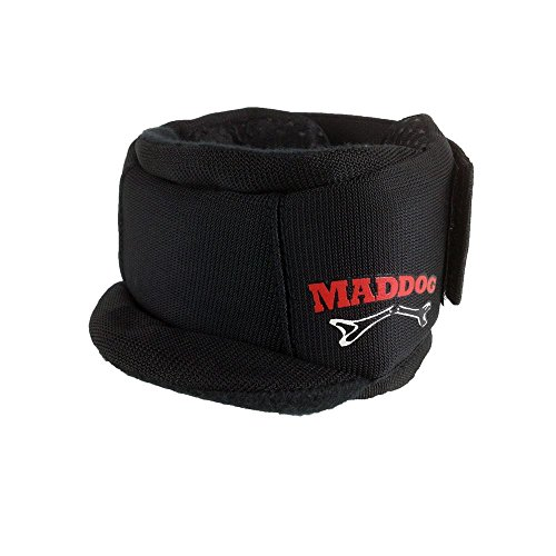 Maddog Pro Padded Paintball Neck Protector - Black