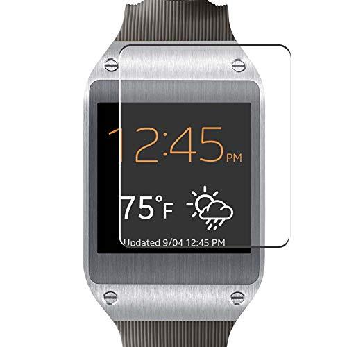 Vaxson 4 Stück Schutzfolie, kompatibel mit Samsung Galaxy Gear v700, Bildschirmschutzfolie TPU Folie [nicht Panzerglas]