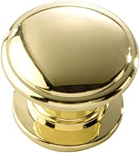 Hickory Hardware P3053-PB 1-1/4-inch Williamsburg Cabinet Knob, gepolijst Brass by Hickory Hardware