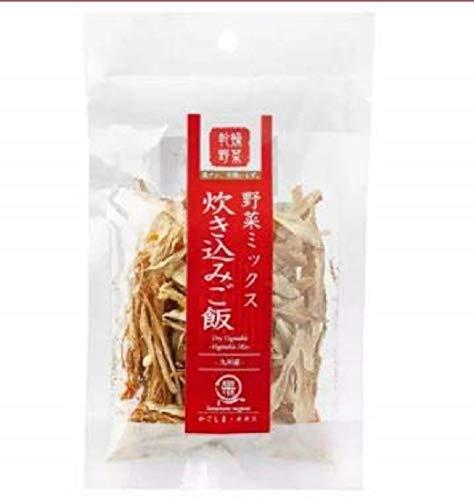 OKISU Takikomi Gohan (gemischter Reis) sortiertes japanisches getrocknetes Gemüse, 15 g. Takikomi Gohan ist gewürzter Reis gemischt mit Gemüse, Fleisch oder Fisch.
