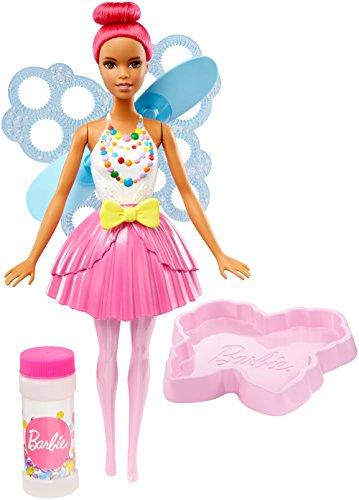 Mattel Barbie, muñeca de Hadas Dreamtopia con Burbujas