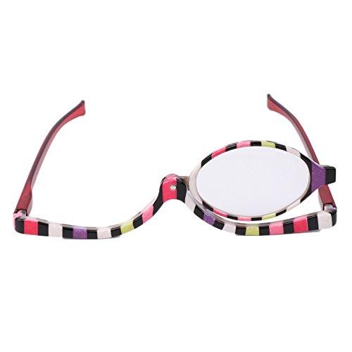 Bluelover Gafas De Maquillaje Anteojos De Aumento De Vidrio