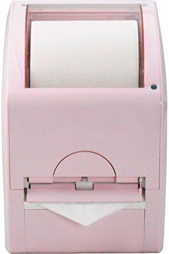 自動三角折りペーパーホルダー オリフジ シングルタイプ orifuji-S01PNK ピンク