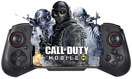 Wireless Mobile Game Controller for iPhone, Joso MFi Game Controller/Bluetooth Controller for iOS iPhone 13/12 Mini/Pro/Pro Max, iPhone X, XR, XS Max, iPhone 8, 11, 11 Pro, 11 Pro Max, Direct Play